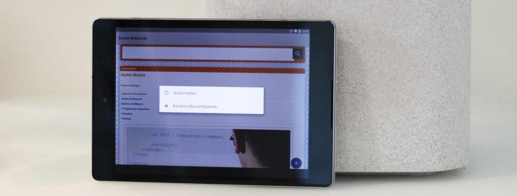 Android-Kiosk-Modus auf dem Nexus 9