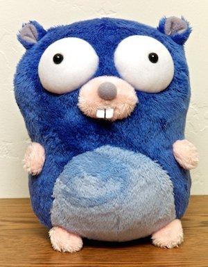The Go mascot. Source: https://blog.golang.org/gopher