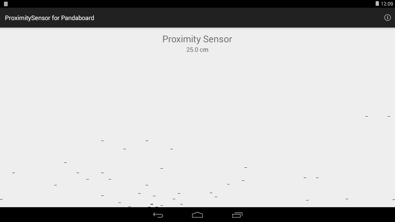 Android proximity sensor app