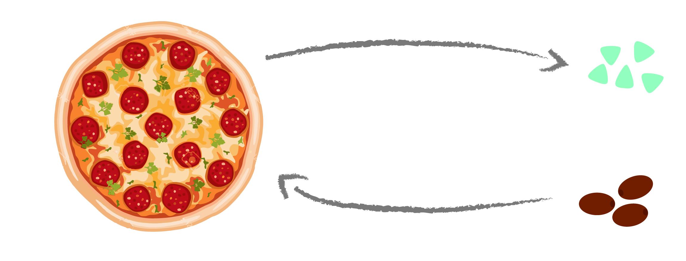 Builder-pattern erklärt anhand von Pizza, Artisckocken und Oliven