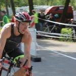 Tobi beim Triathlon in Buchen