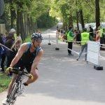 Florian beim Triathlon in Buchen