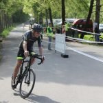 Stephan beim Triathlon in Buchen