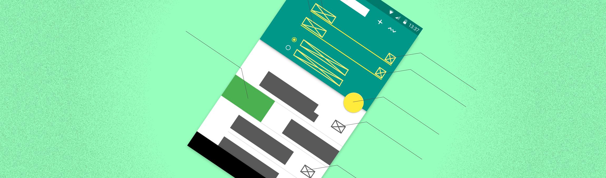 Android Testing Mockup