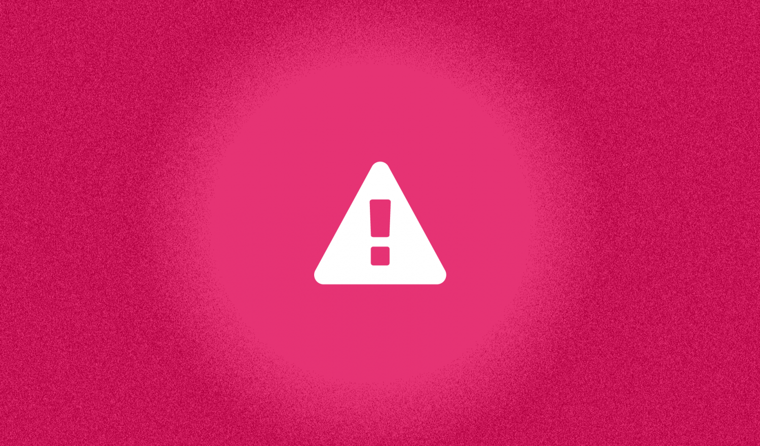 JUnit 4: A white warning sign with exclamation mark in a bright red surrounding