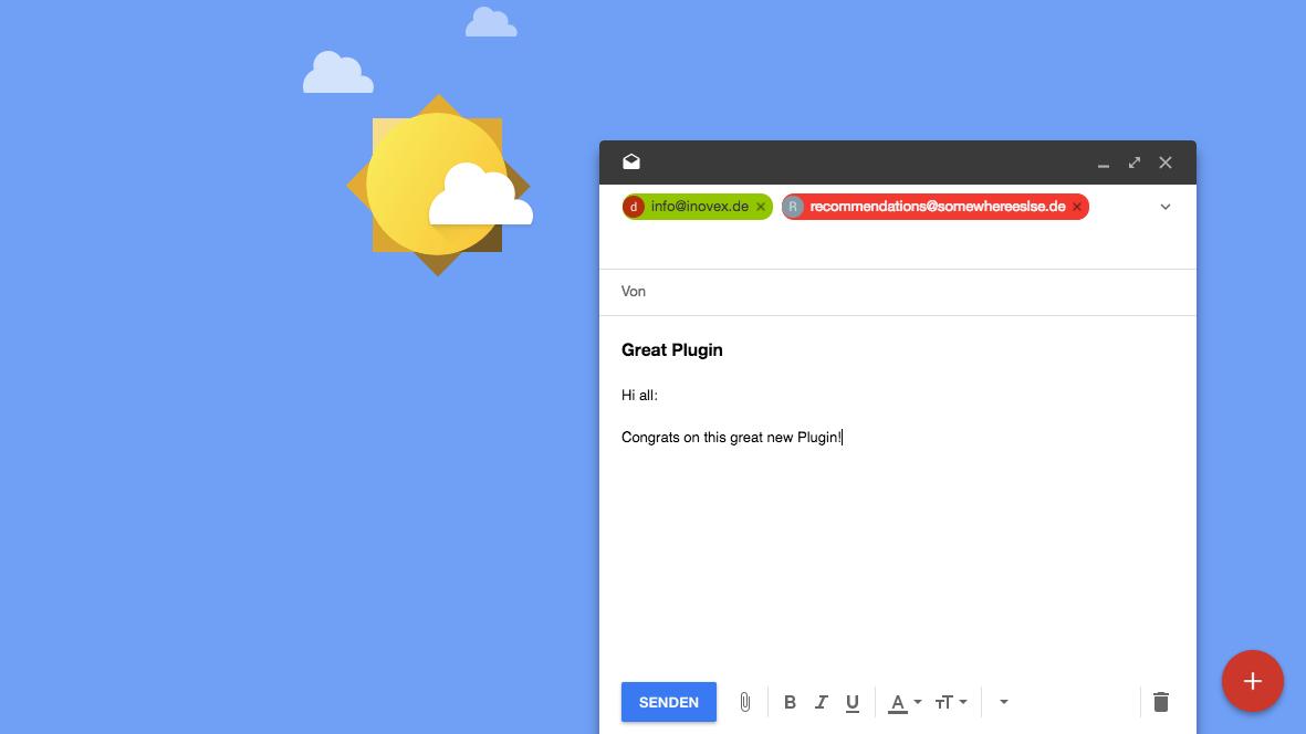 External Address Highlighter for Inbox by Gmail