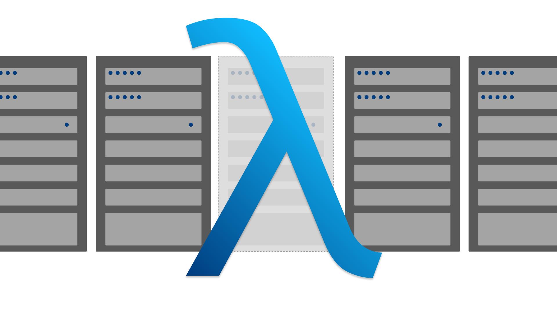 Serverless AWS Lambda – Headerbild zum Blogartikel