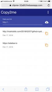 Copy2Me Web