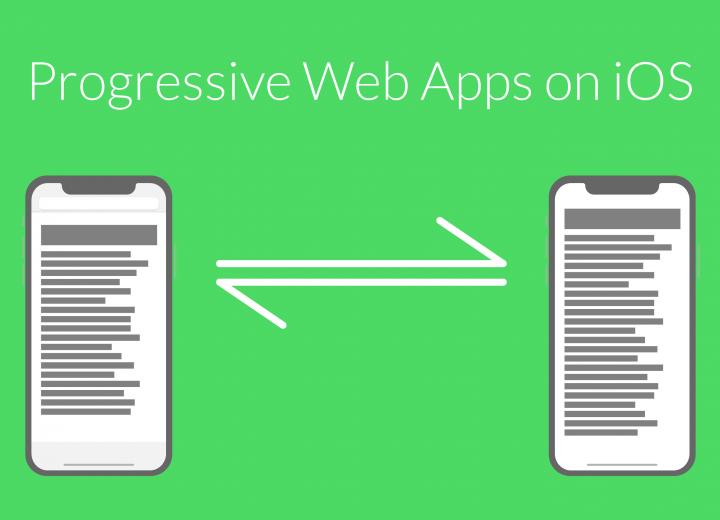 Progressive Web Apps on iOS!