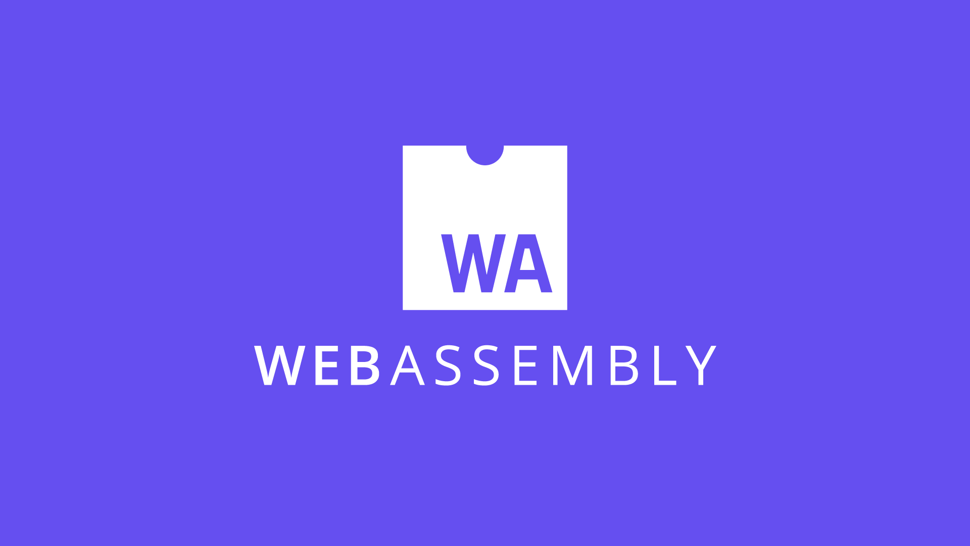 The Webassembly logo