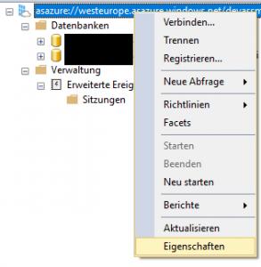 App Registration Property Screenshots