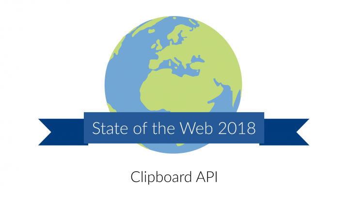 Clipboard API [State of the Web]