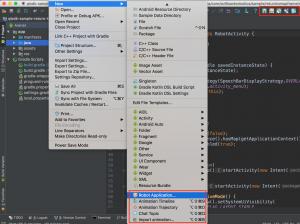 Pepper plugin for Android Studio