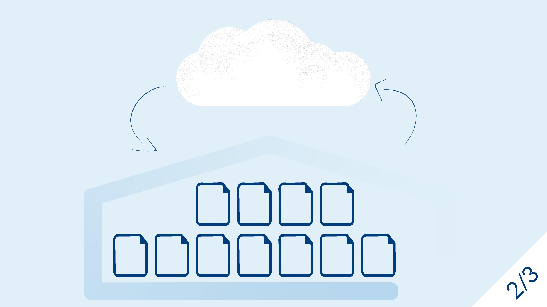 Ein DWH löst sich langsam auf und Daten fließen zur Cloud