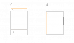Difference with and without css scroll snap
