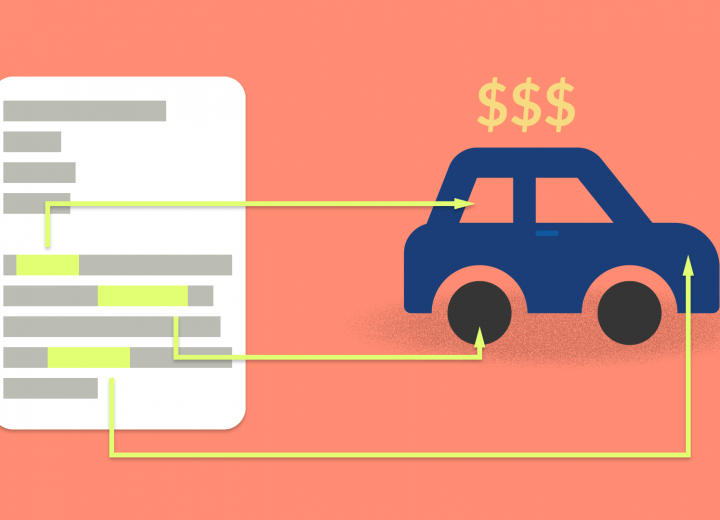 Price Prediction in Online Car Marketplaces using Natural Language Processing