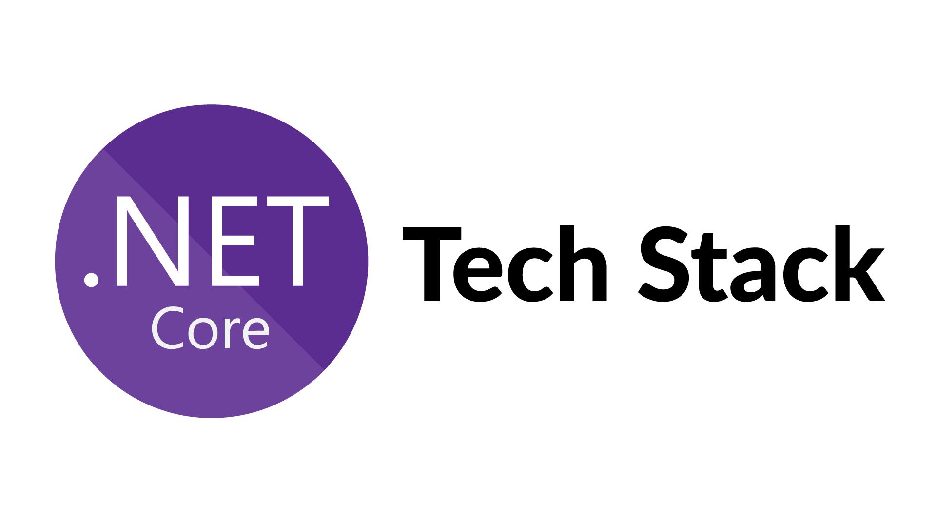 Unser. .NET Core Tech Stack