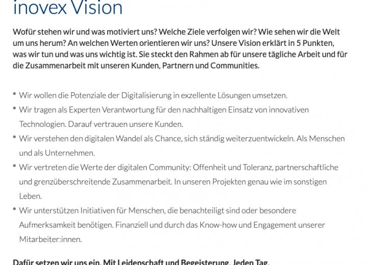 inovex Vision