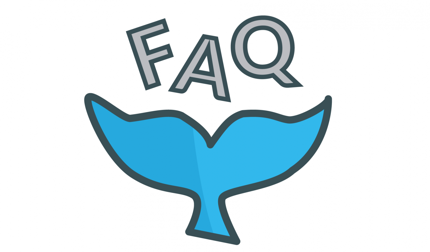 OpenFaaS logo juggling the letters F A Q