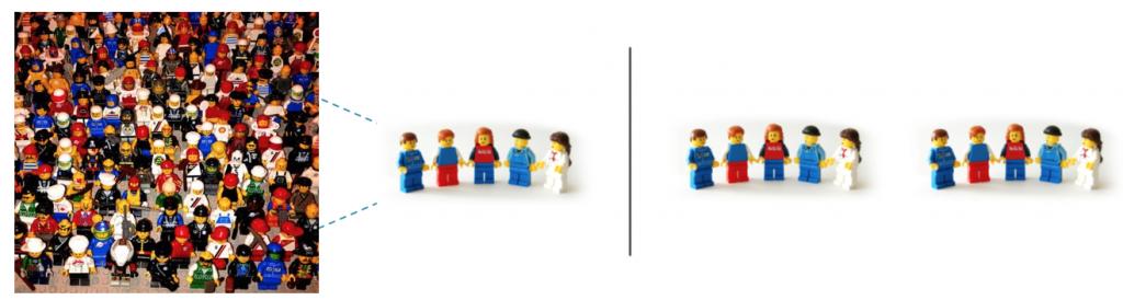 downsizing a group vs. splitting it up