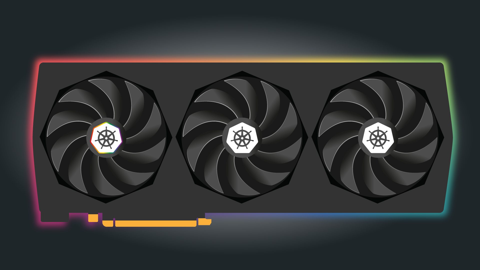 A graphics card with 1 active core
