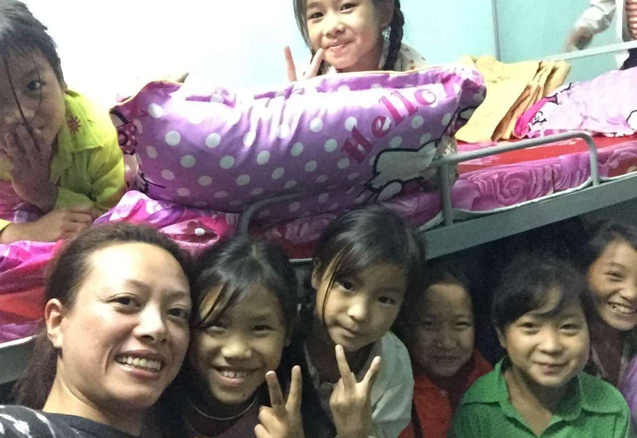 Gruppe von Mädchen aus der LOAN-Stiftung