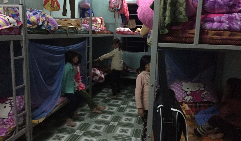 Bild aus dem Schlfraum für Mädchen aus der LOAN-Stiftung