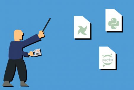 Illustration eines Data Engineer