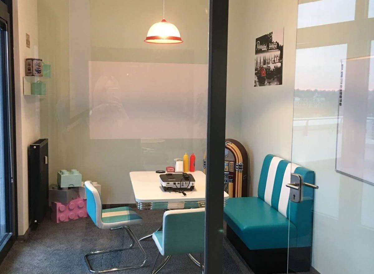 Besprechungsraum im Office Hamburg