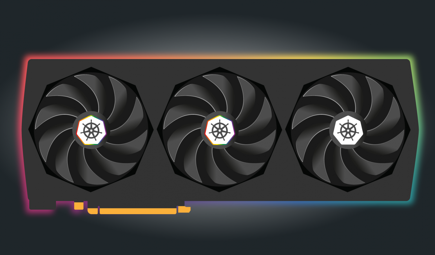 A graphics card with 2 active cores for machine learning with dask