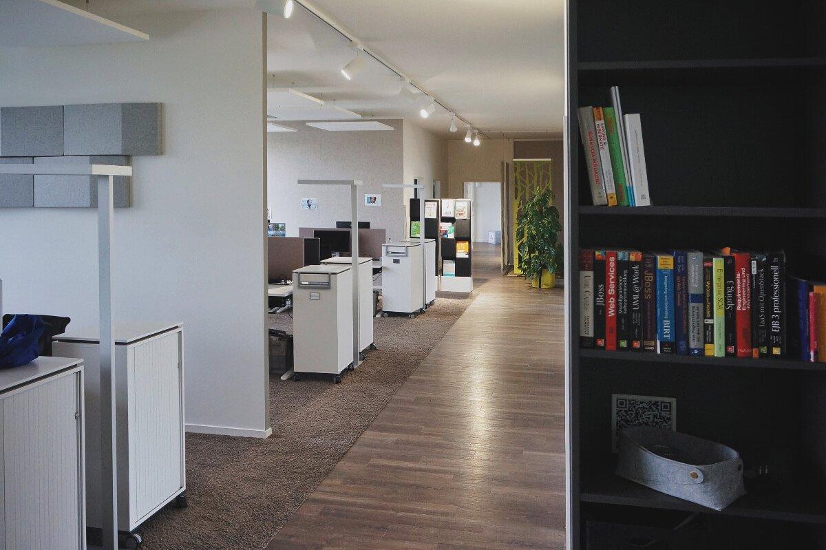Großraumbüro im Office München