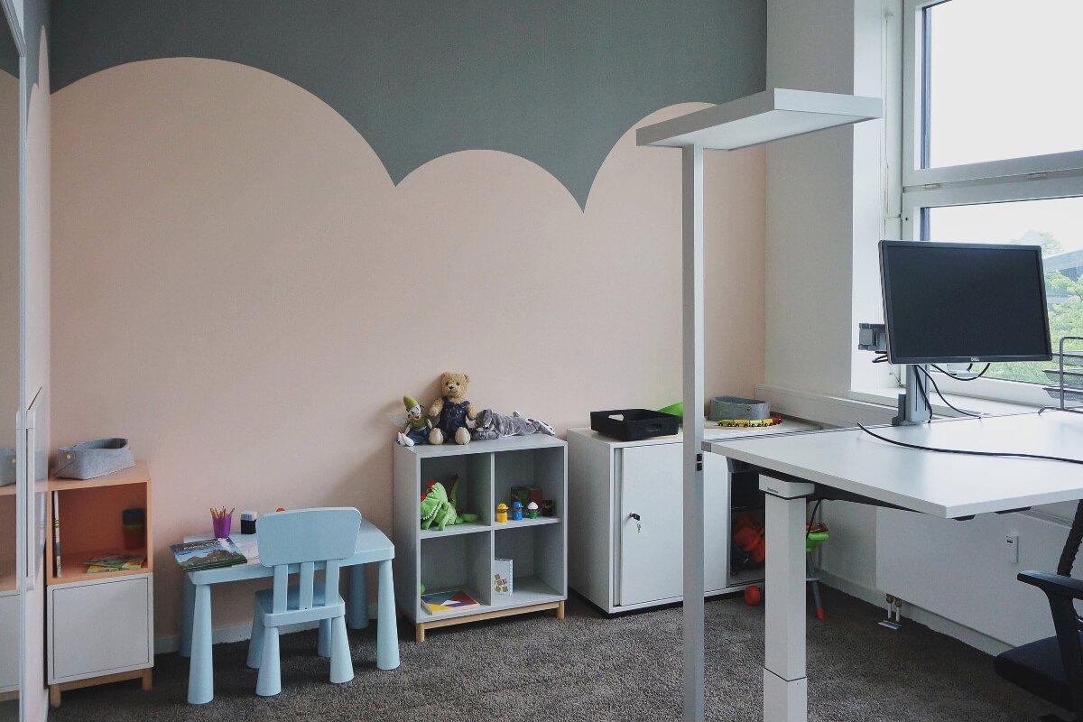 Kinderbereich im Office München