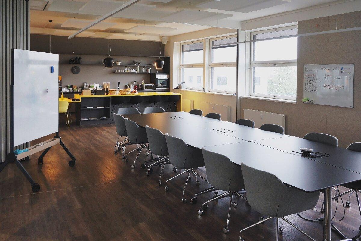 Essensbereich im Office München