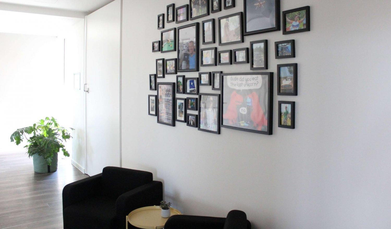 Sitzecke im Office München