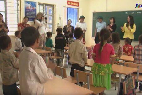 Ein Klassenzimmer in der LOAN-Stiftung