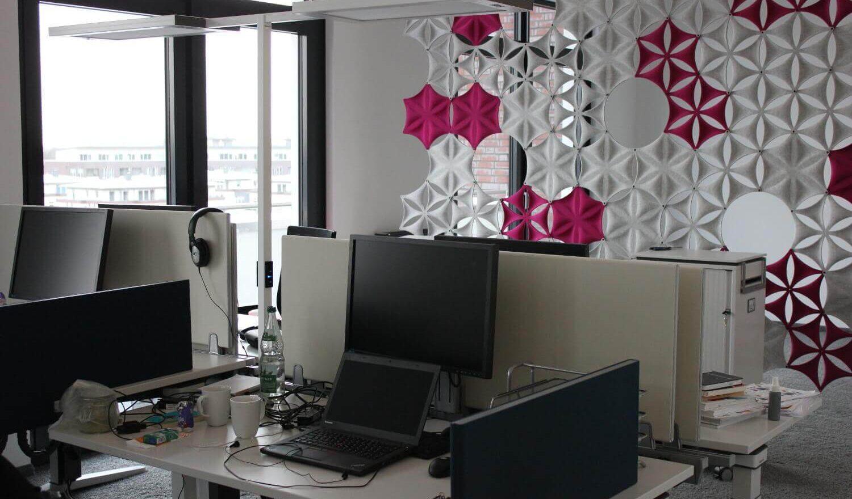 Arbeitsplätze im Office Hamburg