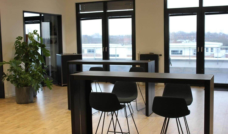 Essensbereich im Office Hamburg