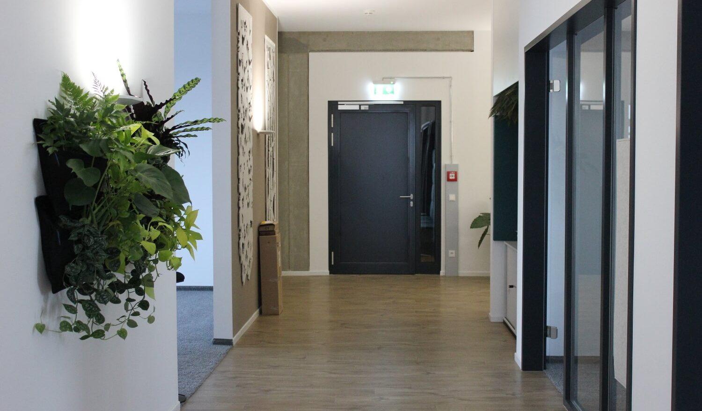 Flur im Office Hamburg