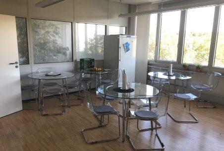 Essbereich im Office Pforzheim