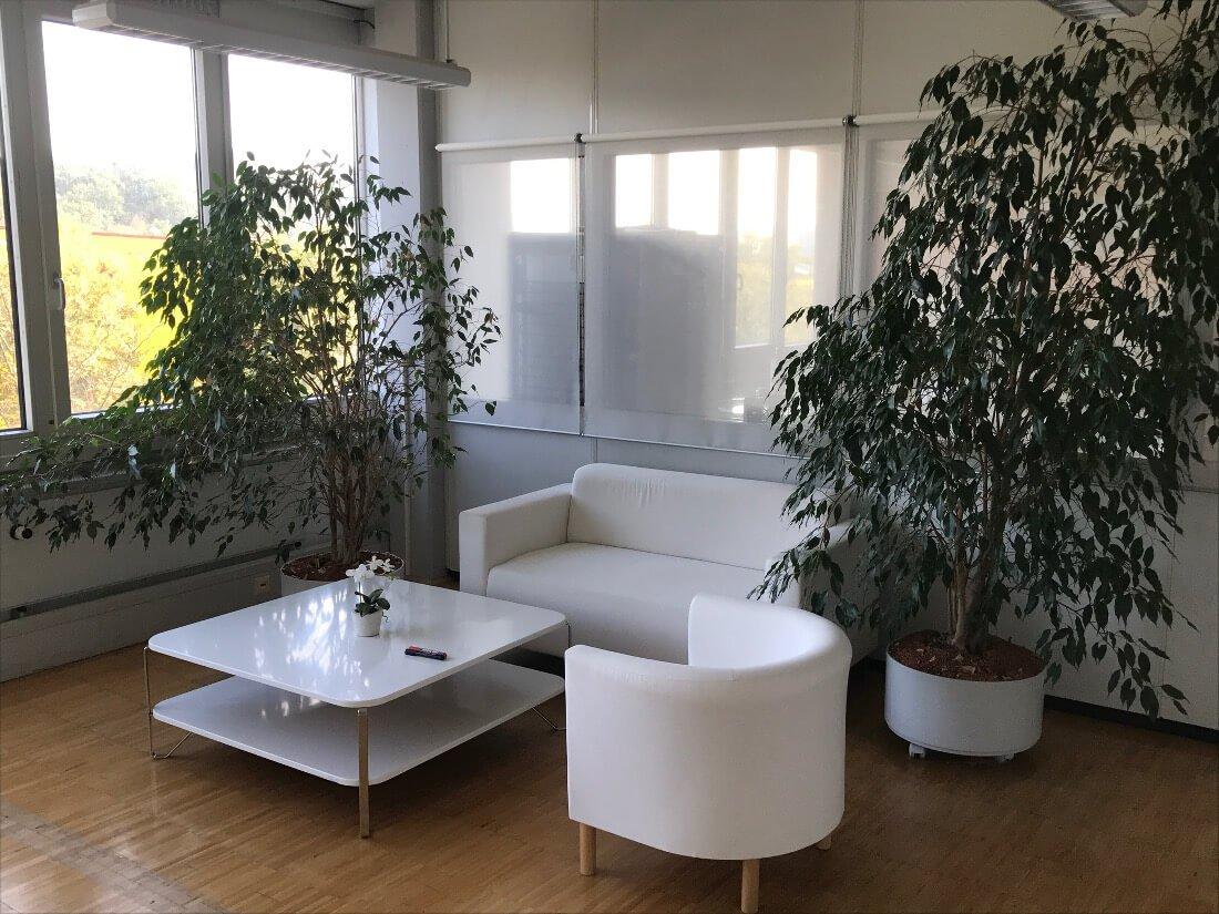 Sitzecke im Office Pforzheim