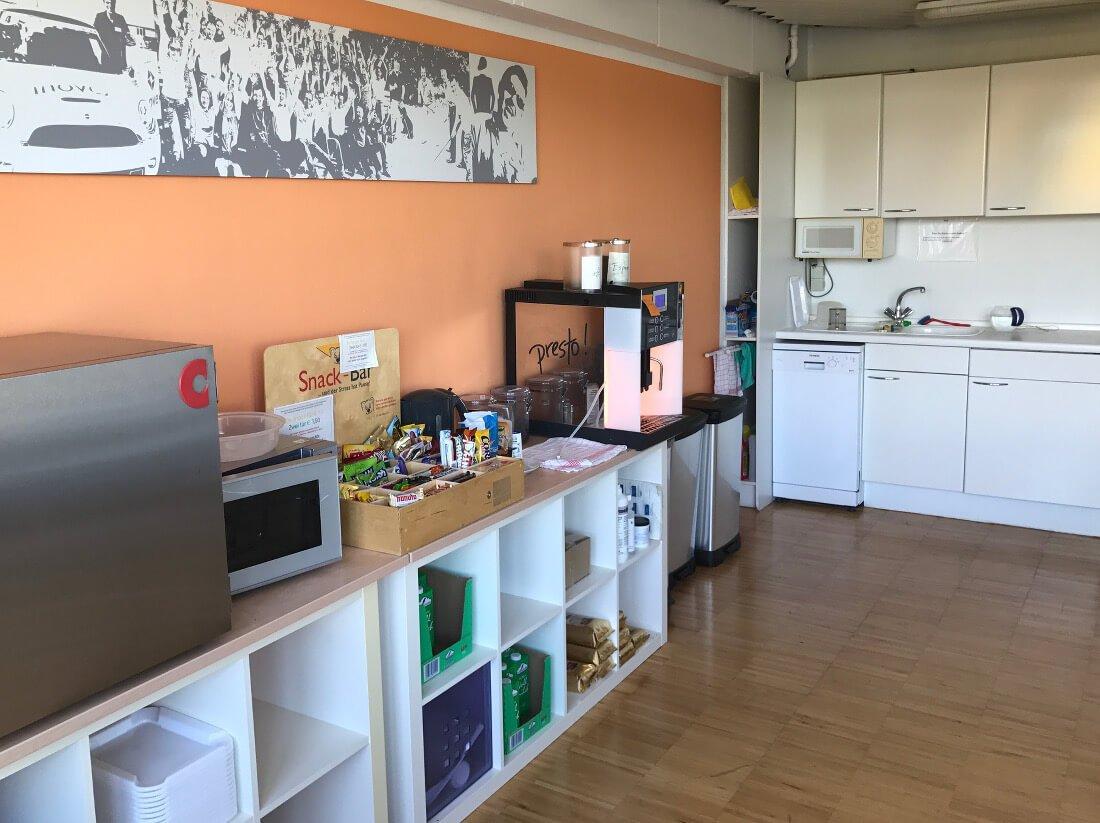 Küche im Office Pforzheim