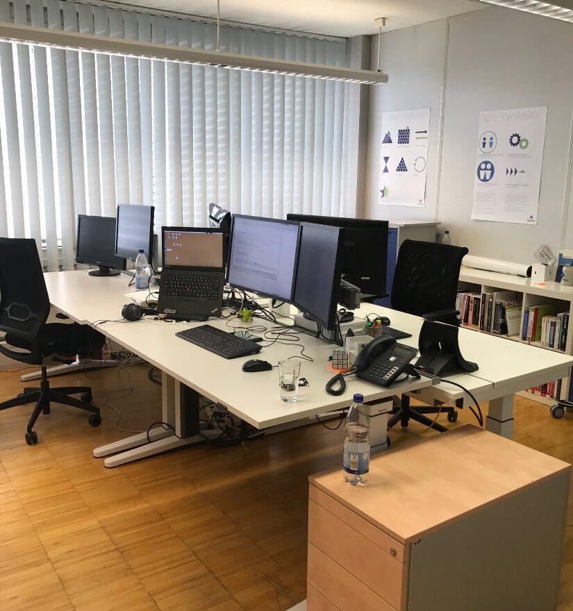 Büroraum im Office