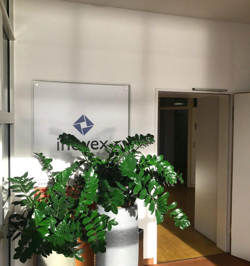 Eingangsbereich Office Pforzheim