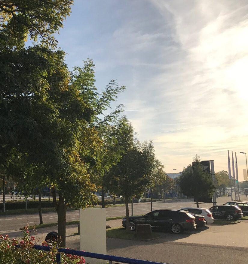 Der Blick aus dem Pforzheimer Office