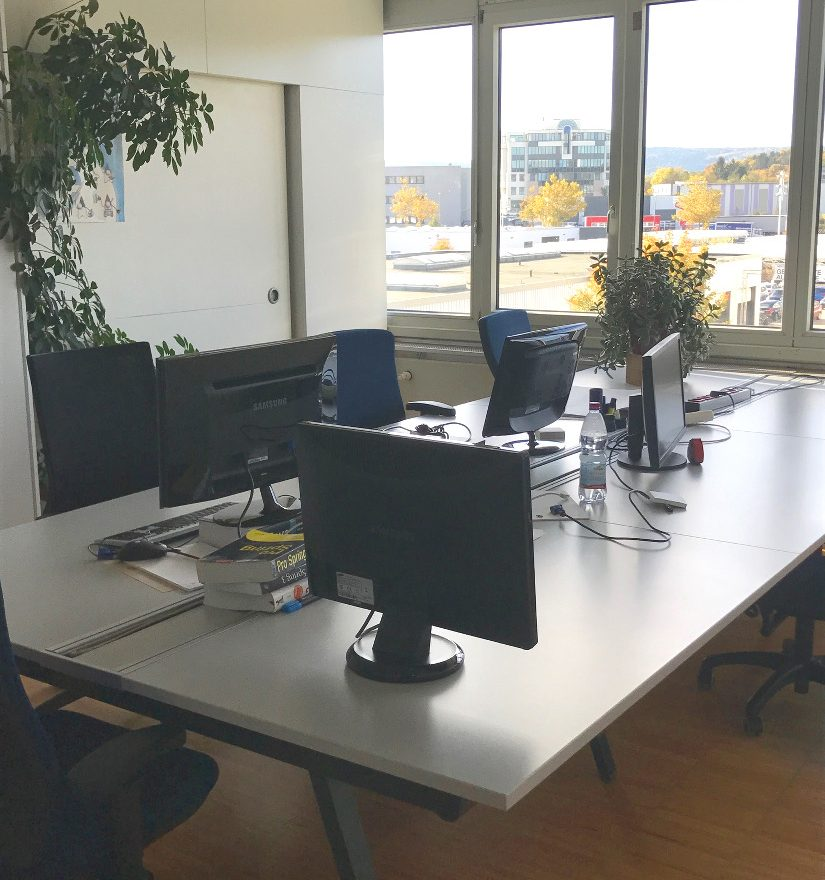 Büroraum im Office Pforzheim
