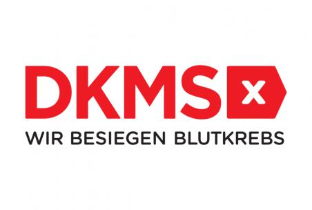 Das Logo der DKMS