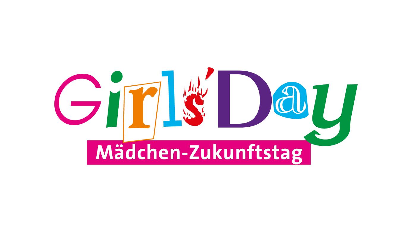 Das typografische Logo des Girls'Day
