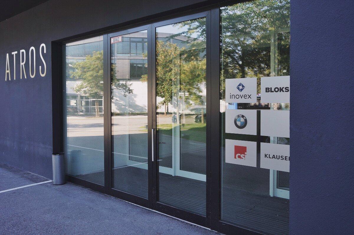 Eingang vom Office München