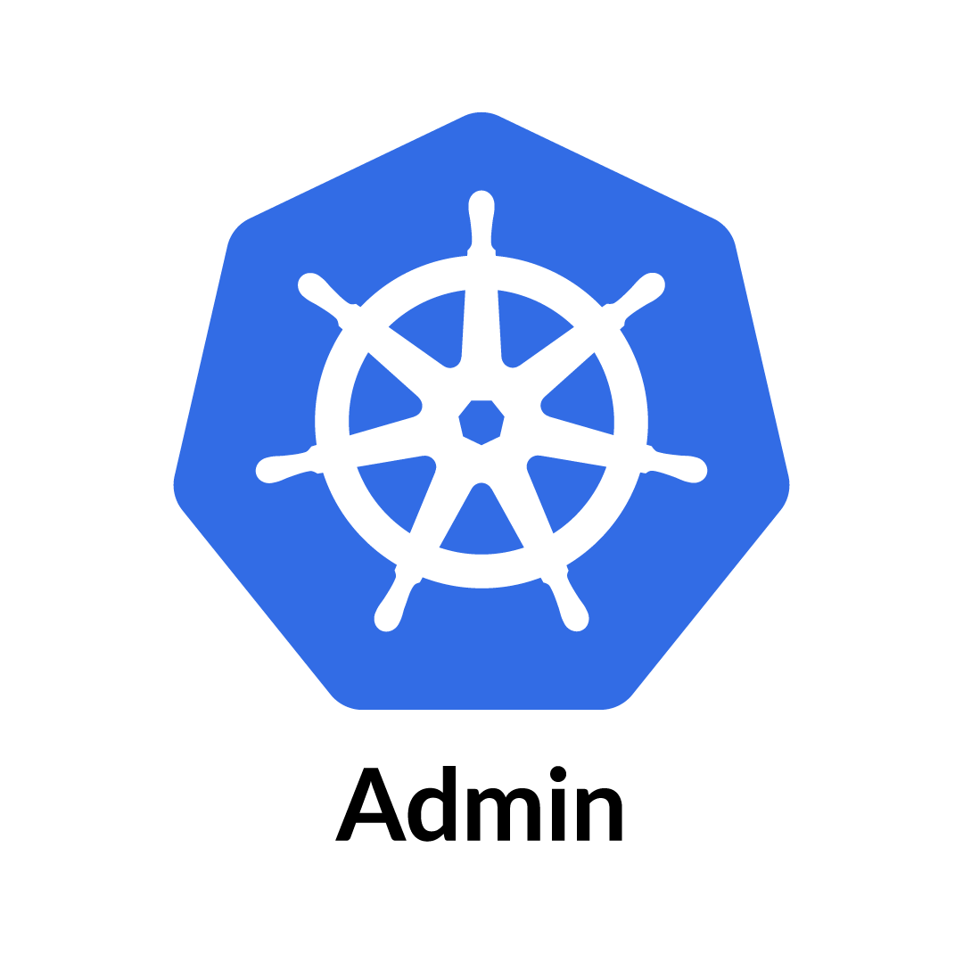 Kubernetes Logo Admins