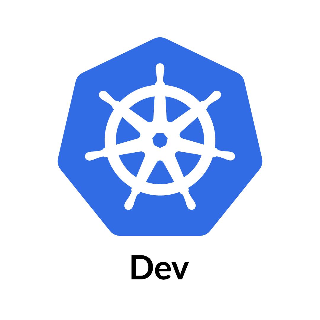 Kubernetes Logo Dev